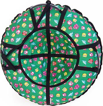Тюбинг Hubster Люкс Pro Совята зеленые (105см) во4688-2 тюбинг hubster люкс pro карнавал 105см во4962 2
