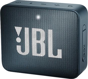 Портативная акустическая система JBL GO2 темно-синий JBLGO2NAVY акустическая система jbl charge 3 синий jblcharge3blueeu
