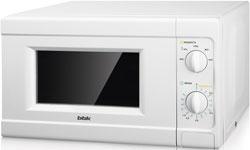 Микроволновая печь - СВЧ BBK 20 MWS-705 M/W белый микроволновая печь свч lg mb 65 w 95 gih