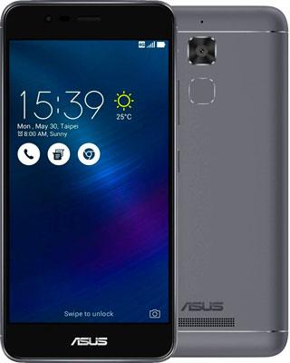 Мобильный телефон ASUS ZenFone 3 Max ZC 520 TL 16 Gb (90 AX 0086-M 00310) серый asus zenfone zoom zx551ml 128gb 2016 black
