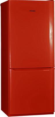 Двухкамерный холодильник Позис RK-101 рубиновый двухкамерный холодильник позис rk 101 серебристый металлопласт