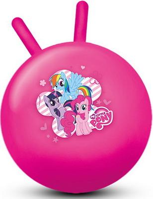 Мяч-попрыгунчик Играем Вместе MY LITTLE PONY 55см с рожками играем вместе бубен my little pony b421478 r2