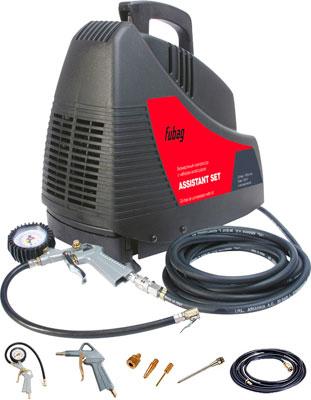 Компрессор FUBAG Assistant Set (OL 195 4 предмета)  компрессор fubag ol 195 24 cm1 5