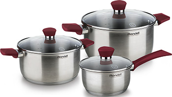 Набор посуды Rondell RDS-817 Strike чайник rondell strike rds 922