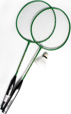 Набор для игры Green Rainbow High Quality Badminton BD 030 2 pc 8mm shank high quality tongue