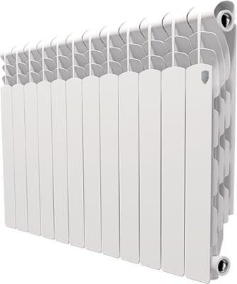 Водяной радиатор отопления Royal Thermo Revolution 500 - 12 секц. радиатор отопления royal thermo pianoforte 500 silver satin 10 секц