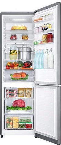 Двухкамерный холодильник LG GA-B 499 SMKZ холодильник с морозильной камерой lg ga b409uqda