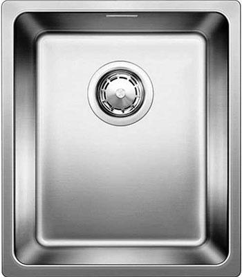 Кухонная мойка BLANCO ANDANO 340-IF нерж. сталь полированная без клапана-автомата blanco andano 400 400 if