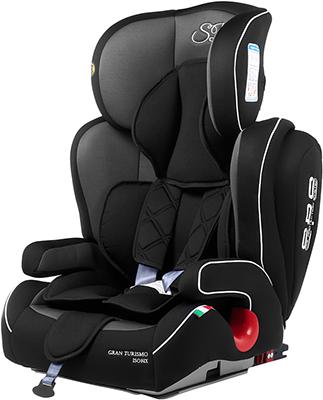 Автокресло Sweet Baby Gran Turismo SPS Isofix Grey/Black 386 009 машинки autotime машина bavaria gran turismo пожарная охрана