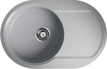 Кухонная мойка OMOIKIRI Manmaru 78-GR Artgranit/leningrad grey (4993360) кухонный смеситель omoikiri tateyama s gr латунь гранит leningrad grey 4994176