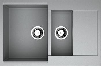 Кухонная мойка OMOIKIRI Daisen 78-2-GR Artgranit/leningrad grey (4993332) смеситель для кухни omoikiri shinagawa gr 4994160 leningrad grey