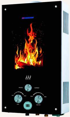 Газовый водонагреватель Edisson F 20 GD (Костер) проточный водонагреватель edisson f 20 d