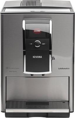 Кофемашина автоматическая Nivona NICR 859 CafeRomatica серебро кофемашина jura a9 aluminium 15118 1450вт 15бар автокапуч