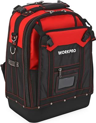 Рюкзак для инструмента WORKPRO повышенной прочности 37 карманов подарок: стриппер и нож W 081065 CH