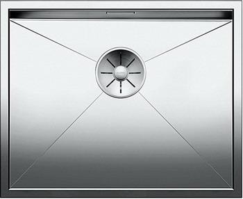 Кухонная мойка BLANCO ZEROX 500-IF нерж. сталь зеркальная полировка 521588 мойка кухонная blanco dana if полированная нерж сталь 514646