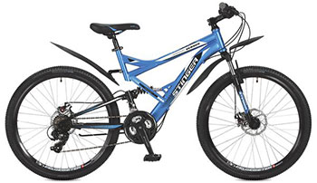 Велосипед Stinger 26 SFD.VERSUD.18 BL7 26'' Versus D 18'' синий велосипед stinger valencia 2017