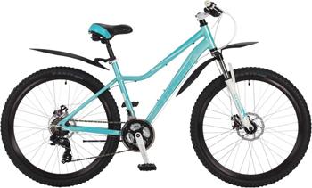 Велосипед Stinger 26'' Vesta D 17'' аквамарин 26 AHD.VESTAD.17 TQ7 велосипед stinger valencia 2017