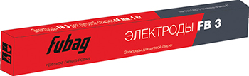 Электрод сварочный с рутиловым покрытием FUBAG FB 3 D3.0 мм 38870 электрод ресанта мр 3 ф4 0 пачка 1 кг 71 6 24