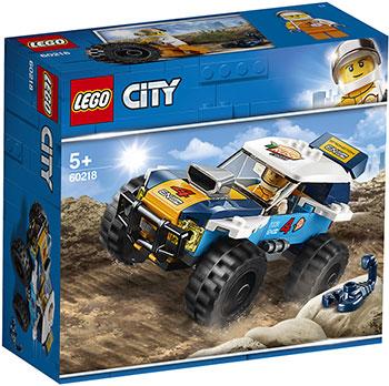 Конструктор Lego Участник гонки в пустыне 60218 City Great Vehicles lego city 60218 конструктор лего город транспорт участник гонки в пустыне