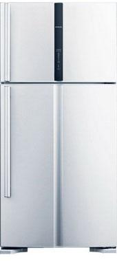Двухкамерный холодильник Hitachi R-V 662 PU3 PWH двухкамерный холодильник hitachi r v 662 pu3x inx
