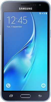 Мобильный телефон Samsung Galaxy J3 (2016) SM-J 320 F 8GB черный телефон samsung galaxy a7 2017 sm a720f черный