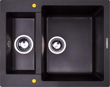 Кухонная мойка Zigmund amp Shtain RECHTECK 600.2 швейцарский шоколад