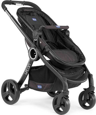 Коляска Chicco Urban Plus Black