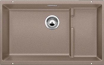 Кухонная мойка BLANCO SUBLINE 700-U Level SILGRANIT серый беж  цена и фото