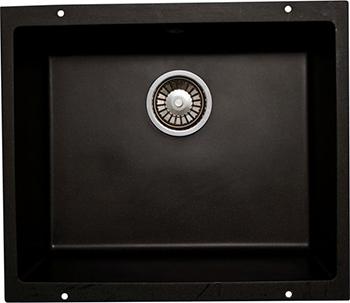 Кухонная мойка LAVA U.1 (BASALT чёрный) кухонная мойка ukinox stm 800 600 20 6