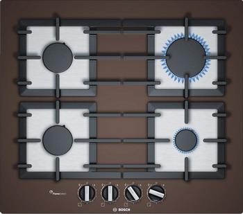 Встраиваемая газовая варочная панель Bosch PPP 6 A4 B 90 R встраиваемая газовая варочная панель bosch ppp 6 a4 b 90 r