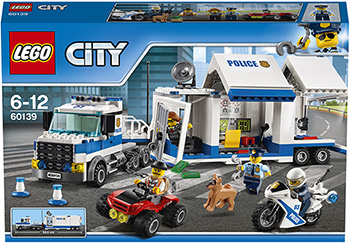 Конструктор Lego City Город Мобильный командный центр 60139 lego city миссия исследование джунглей 60159