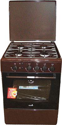 Газовая плита Cezaris ПГ 3100-12 (Ч) коричневый газовая плита cezaris пг 3100 02 ч коричневый