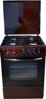 Газовая плита Cezaris ПГ 3100-08 (Ч) коричневый газовая плита cezaris пг 3100 02 ч коричневый