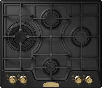 Встраиваемая газовая варочная панель Zigmund amp Shtain GN 248.61 A кухонная мойка zigmund amp shtain kaskade 800 молодое шампанское