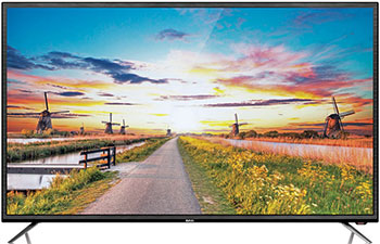4K (UHD) телевизор BBK 65 LEX-6027/UTS2C черный tv тюнер bbk smp015hdt2 черный