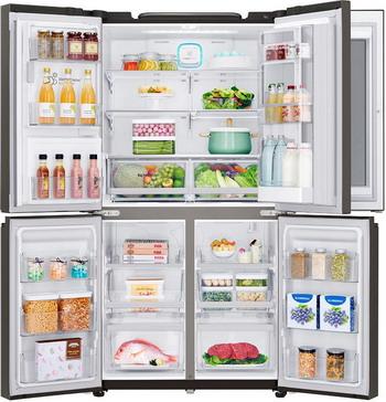 Многокамерный холодильник LG GR-X 24 FTKSB huion inspiroy q11k 5 90 графический планшет