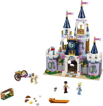 Конструктор Lego Disney Princess: Волшебный замок Золушки 41154 конструктор lego disney princess 41154 волшебный замок золушки