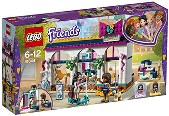 Конструктор Lego Магазин аксессуаров Андреа 41344 lego друзей series 6 до 12 лет сердце лейк сити йогурт мороженое магазин 41320 lego детские строительные блоки игрушки