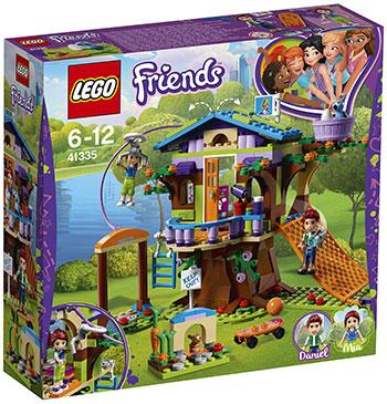 Конструктор Lego Домик Мии на дереве LEGO Friends 41335 lego друзей series 6 до 12 лет сердце лейк сити йогурт мороженое магазин 41320 lego детские строительные блоки игрушки