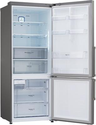 Двухкамерный холодильник LG GC-B 559 EABZ холодильник lg gc b559pmbz