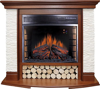 Каминокомплект Royal Flame Country с очагом Dioramic 28 LED FX (Орех) каминокомплект royal flame suite c очагом vision 23 led fx n алебастр 1164918913