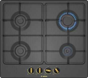 Встраиваемая газовая варочная панель Bosch PGP 6 B3 B 60 R встраиваемая газовая варочная панель bosch pgp 6b 2b 60