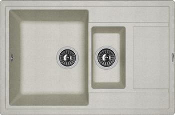 Кухонная мойка Florentina Липси 780К грей FSm цена