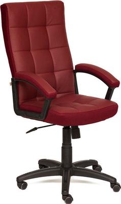Кресло Tetchair TRENDY (кож/зам/ткань бордо/бордо 36-7/13) кресло tetchair runner кож зам ткань черный жёлтый 36 6 tw27 tw 12