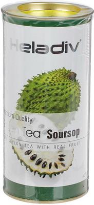 Чай зеленый HELADIV HD GT SOURSOP 100 gr Round P.T. чай bebivita травяной чай для кормящих матерей 1 г х 20 пак