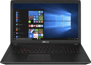Ноутбук ASUS FX 753 VD-GC 482 T (90 NB0DM3-M 08380) ноутбук asus fx 753 vd gc 128 90 nb0dm3 m 09520