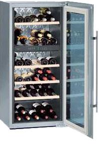 Встраиваемый винный шкаф Liebherr WTEes 2053 (WTEes 20530) Vinidor встраиваемый винный шкаф liebherr uwt 1682