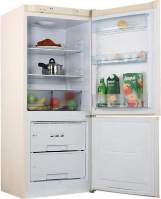 Двухкамерный холодильник Позис RK-101 бежевый двухкамерный холодильник позис rk 101 серебристый металлопласт