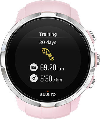Часы SUUNTO SPARTAN SPORT SAKURA (HR) пульсометр sigma id run hr цвет pacific blue