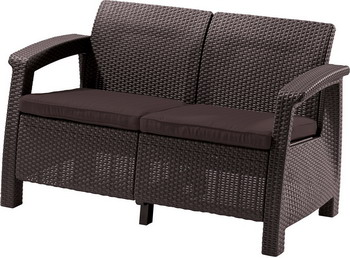 Диван Keter Corfu Love Seat 17197359 цена